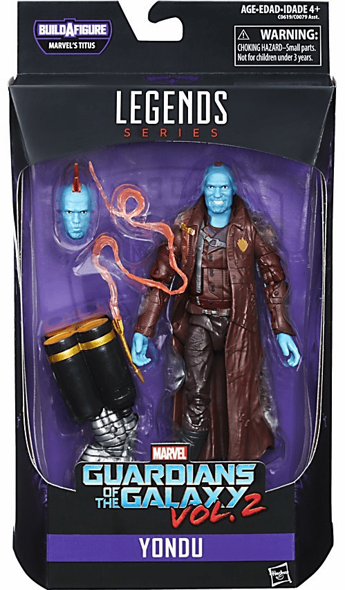 Marvel Legends Infinite Titus Guardians of The Galaxy Marvel's Yondu Figure