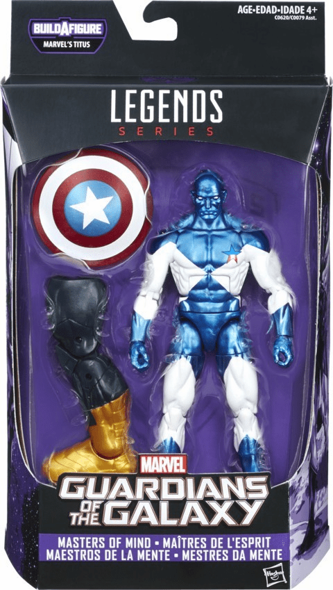 Marvel Legends Infinite Titus Guardians of The Galaxy Masters of Mind Vance Astro Figure