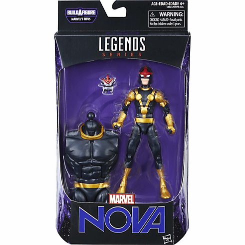 Marvel Legends Infinite Titus Guardians of The Galaxy Nova Figure
