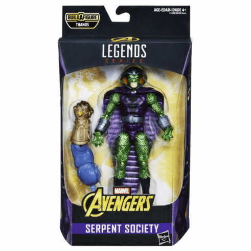 Marvel Legends Infinity War Thanos Series King Cobra Figure