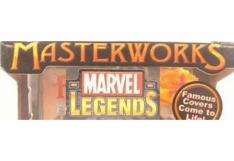 Marvel Legends Masterworks Displays