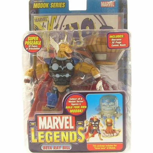 Marvel Legends Modok Series 15 Beta Ray Bill Action Figure