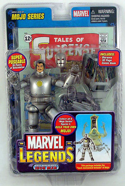 Marvel Legends Mojo Series 14 1st Appearance Iron Man Action Figure