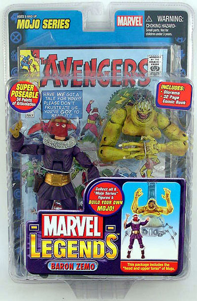 Marvel Legends Mojo Series 14 Baron Zemo Action Figure