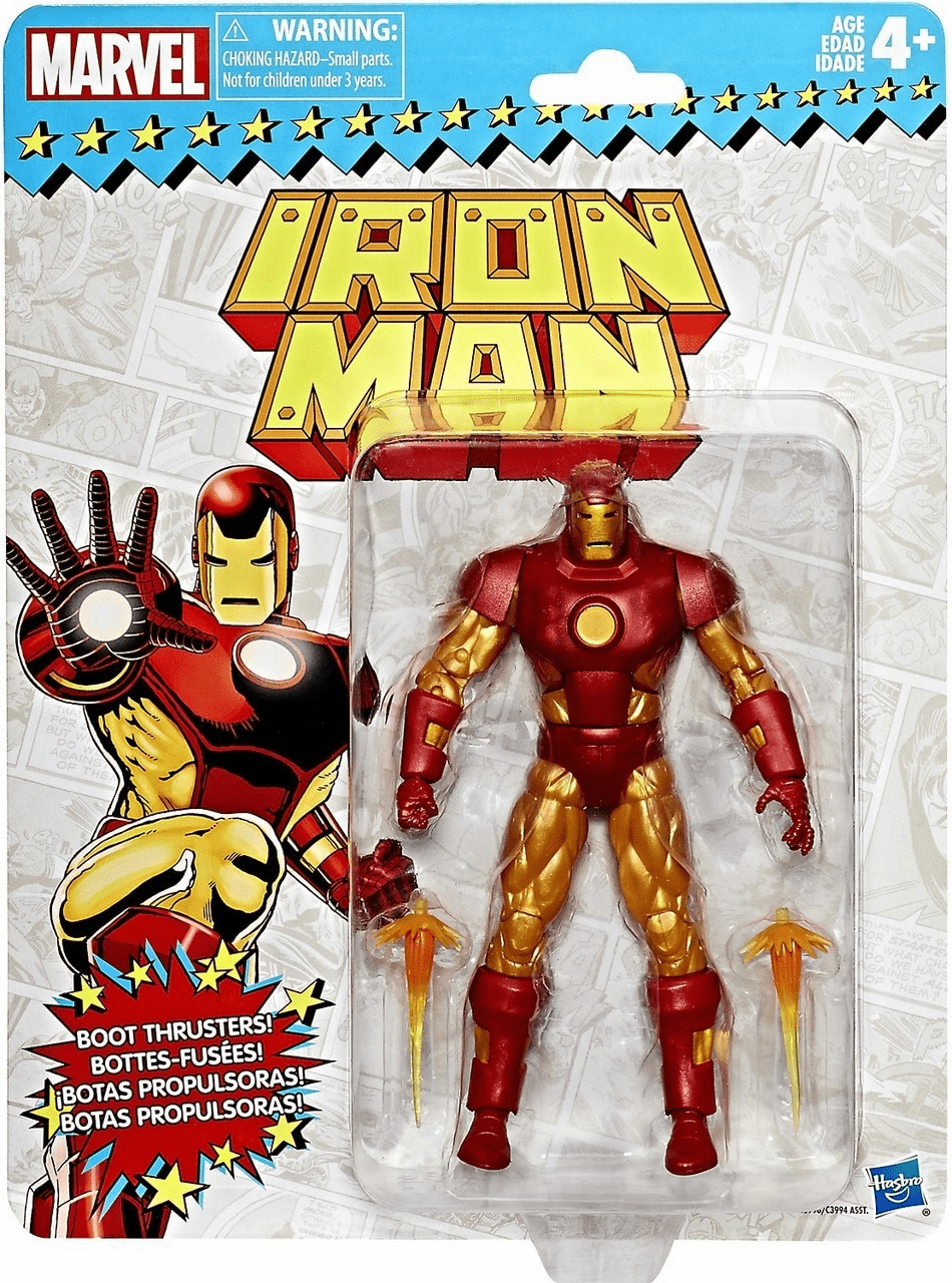 Marvel Legends Retro Iron Man Figure