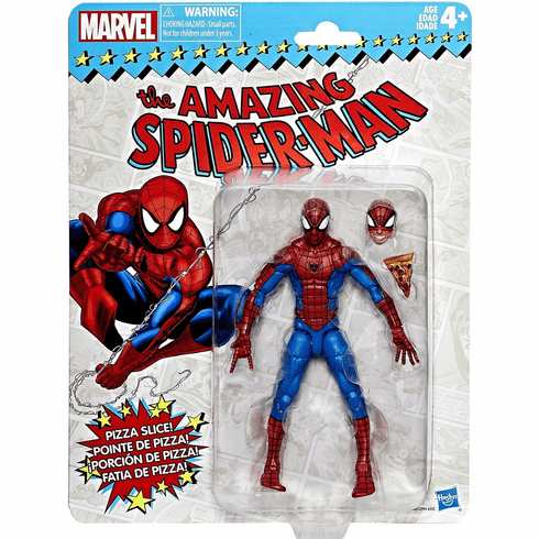 Marvel Legends Retro Spider-Man Figure