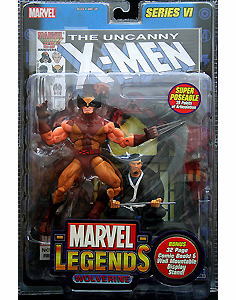 Marvel Legends Series 6 Action Figures