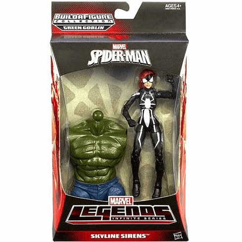 Marvel Legends Ultimate Green Goblin Series Skyline Sirens Spider-Girl Figure