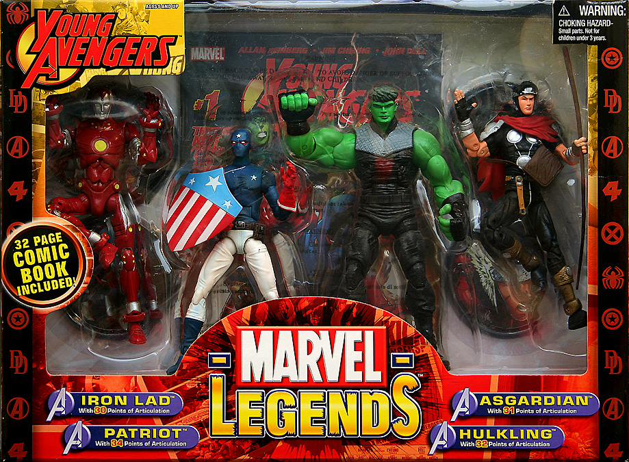 Marvel Legends Young Avengers Box Set