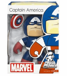 Marvel Mighty Muggs Captain America Figure