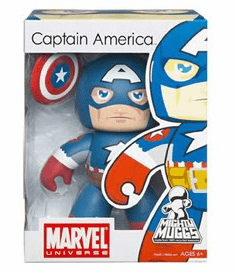 Marvel Mighty Muggs Captain America Version 2 Figure