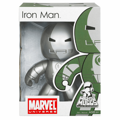 Marvel Mighty Muggs Iron Man Version 2 Figure