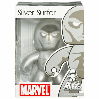 Marvel Mighty Muggs Silver Surfer Figure