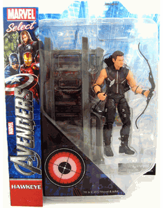 Marvel Select Avengers Movie Hawkeye Action Figure
