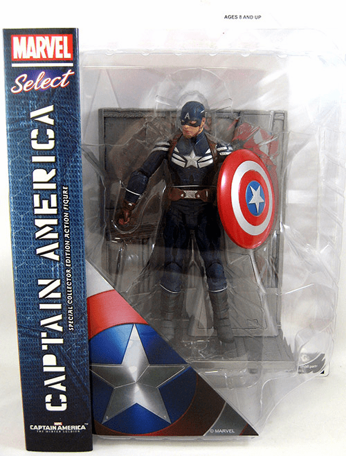 Marvel Select Captain America Winter Soldier Stealth Uniform Figure