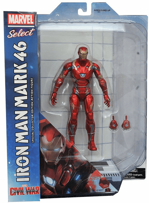 Marvel Select Civil War Iron Man Mark XLV Figure