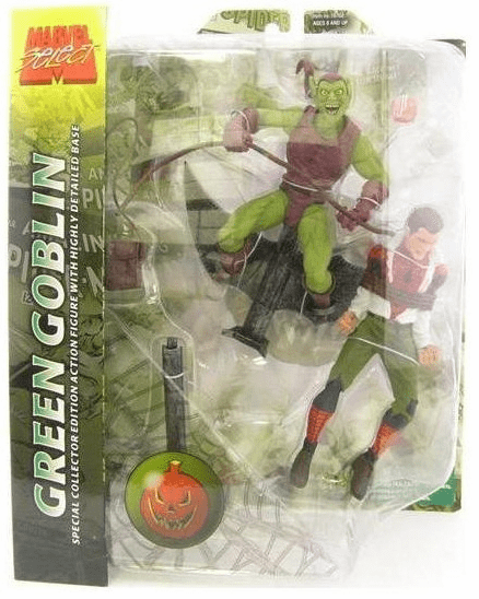 Marvel Select Green Goblin Peter Parker  Figure