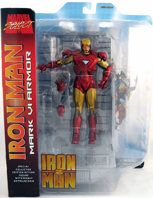 Marvel Select Iron Man 2 Mark VI Armor Figure