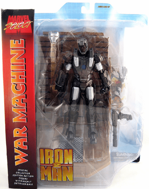 Marvel Select Iron Man 2 Movie War Machine Action Figure