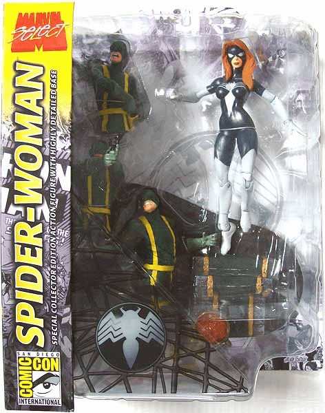 Marvel Select SDCC Spider-Woman Action Figure