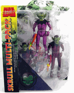 Marvel Select Skrull Multi-Pack Action Figure