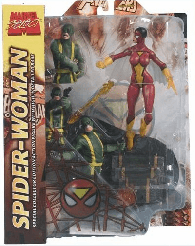 Marvel Select Spider-Woman Variant Figure