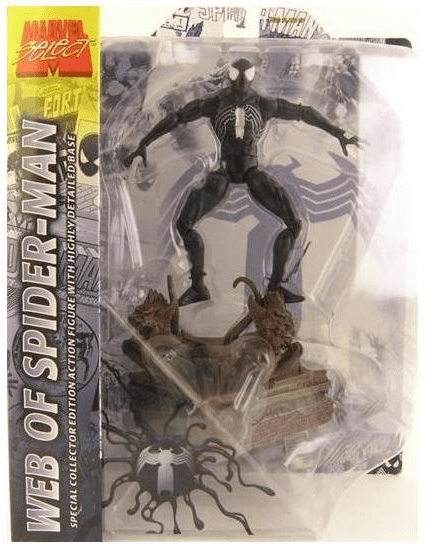 Marvel Select Symbiote Web of Spider-Man Figure