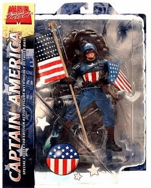 Marvel Select Ultimate Captain America Action Figure