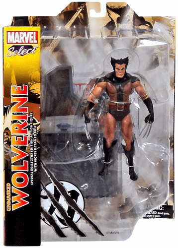 Marvel Select Unmasked Wolverine Action Figure