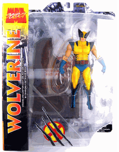 Marvel Select Yellow Wolverine Action Figure
