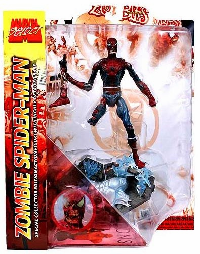 Marvel Select Zombie Spider-Man Figure