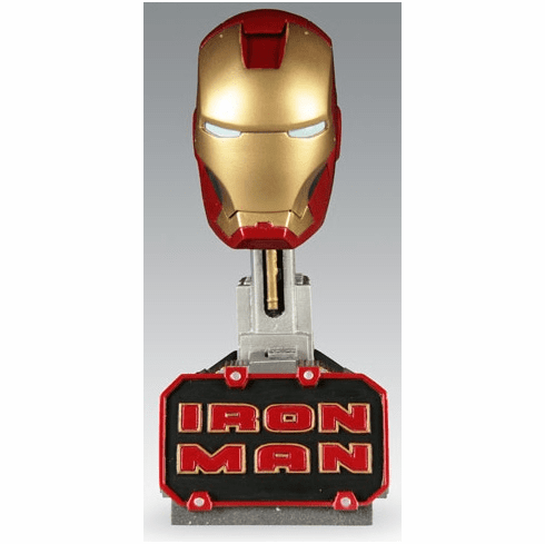 Marvel Sideshow Collectibles Iron Man Mark 3 Helmet Scaled Replica
