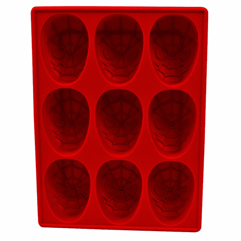 Marvel Spider-Man Mask Silicone Tray