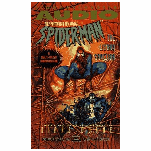 Marvel Spider-Man The Lizard Sanction Diane Duane Audio Cassette Set