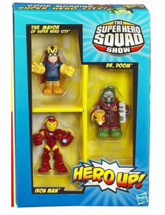 Marvel Super Hero Squad San Diego Comic Con 2010 Exlusive 3 Pack
