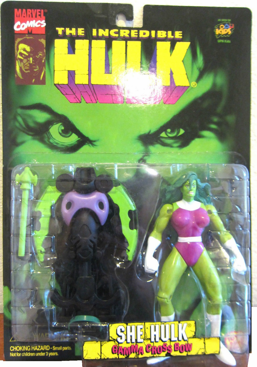 Marvel The Incredible Hulk She Hulk Gamma Cross Bow Action Figure