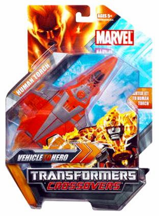 Marvel Transformers Crossovers Human Torch Figure