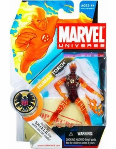 Marvel Universe #11 Human Torch Flame Figure