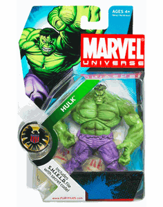 Marvel Universe #13 Green Hulk Figure