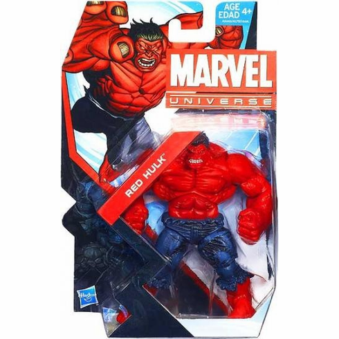 Marvel Universe #13 Red Hulk Figure