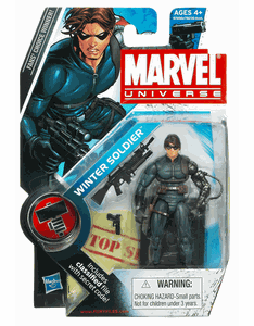 Marvel Universe #22 Winter Soldier Figure