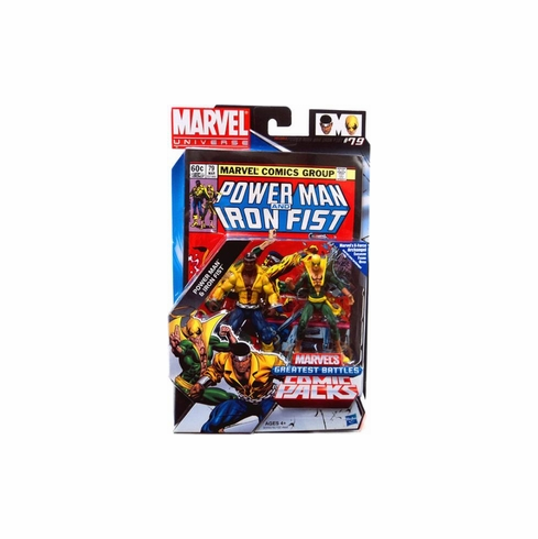Marvel Universe Greatest Battles Power Man & Iron Fist Figure Set