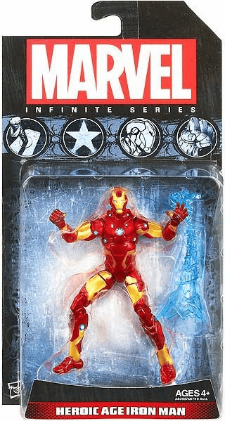 Marvel Universe Infinite Iron Man Action Figure