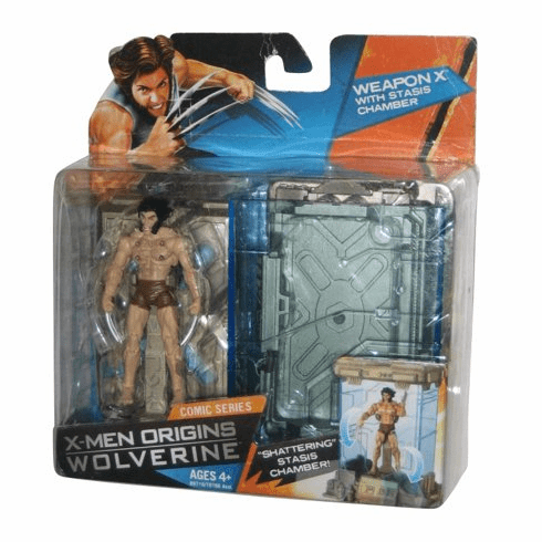 Marvel X-Men Origins Wolverine Weapon X with Stasis Chamber Figure
