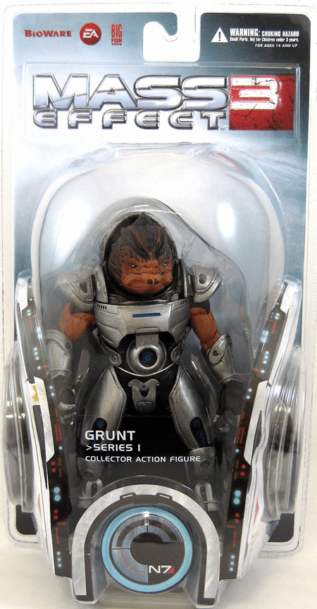 Mass Effect 3 Grunt Action Figure