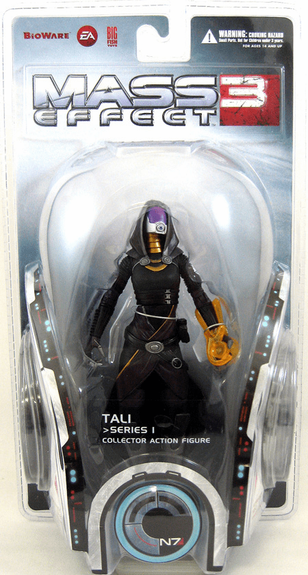Mass Effect 3 Tali Action Figure