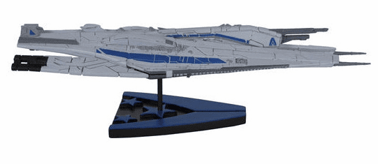 Mass Effect Alliance Cruiser Ship
