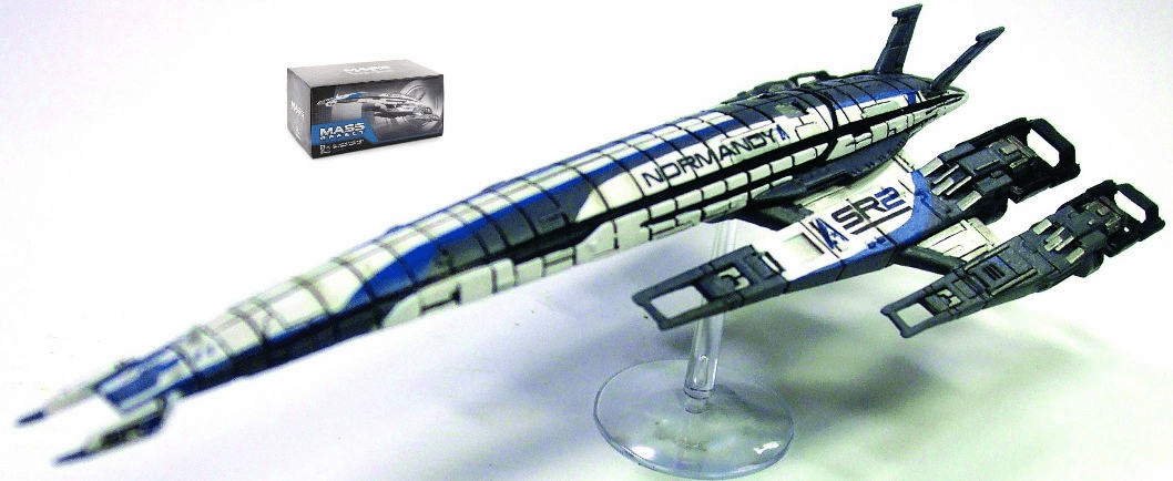 Mass Effect SSV Normandy Replica Ship