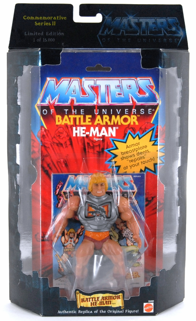 Masters of the Universe Commemorative Series Battle-Armor He-man