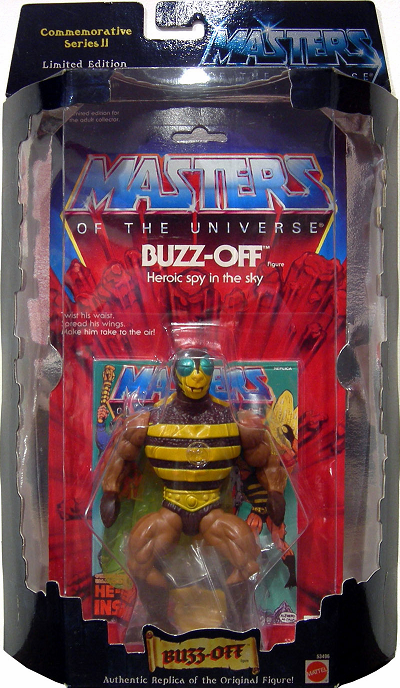 Masters of the Universe Commemorative Series Buzz-Off Figure